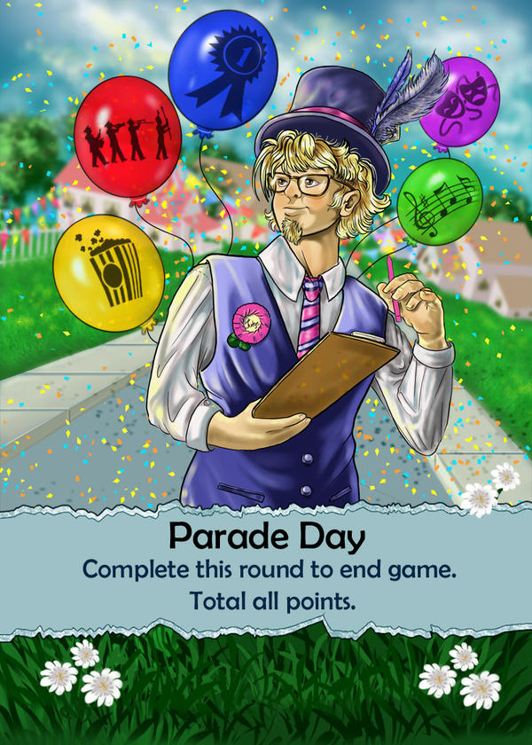 Parade Day Card by bonbon3272