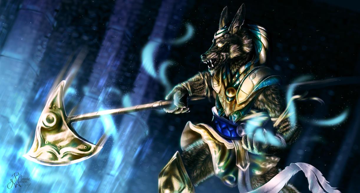 League of Legends - Nasus by bonbon3272