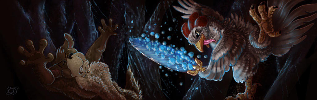 Dark Battle by bonbon3272