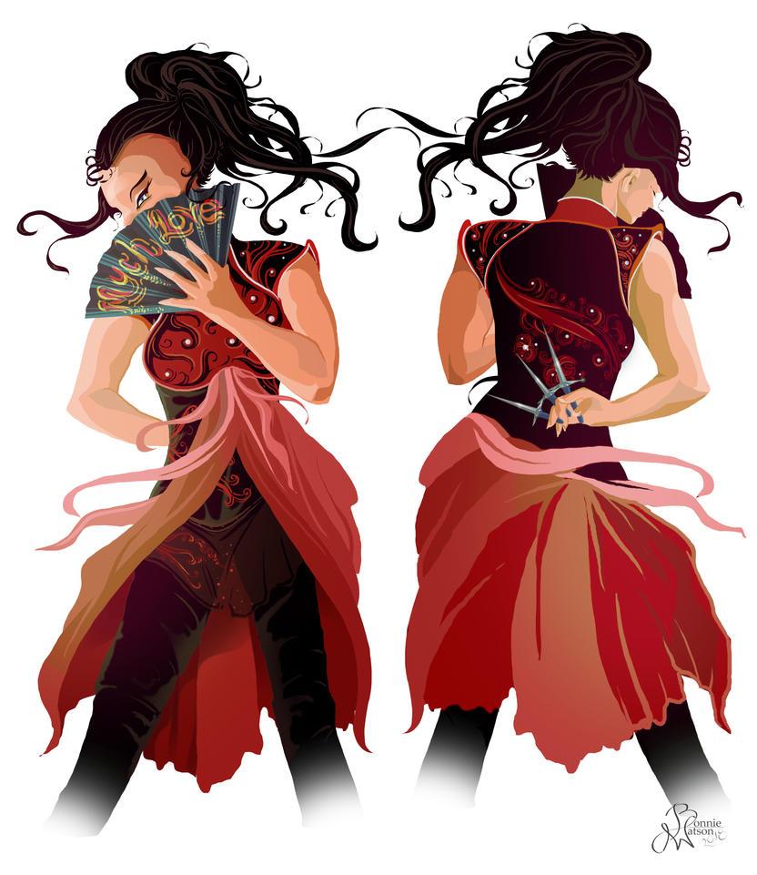 Krisyana - Character Concept WIP by bonbon3272