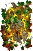 Halloween T-Shirt Design by bonbon3272