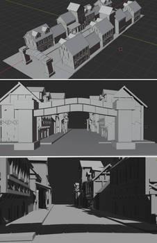 Port of Mayla 3D Model