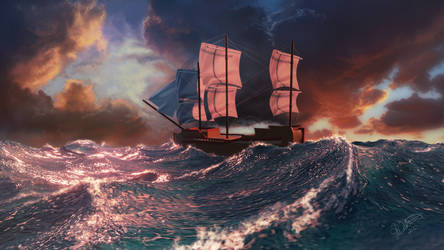 Sailing the Merionous