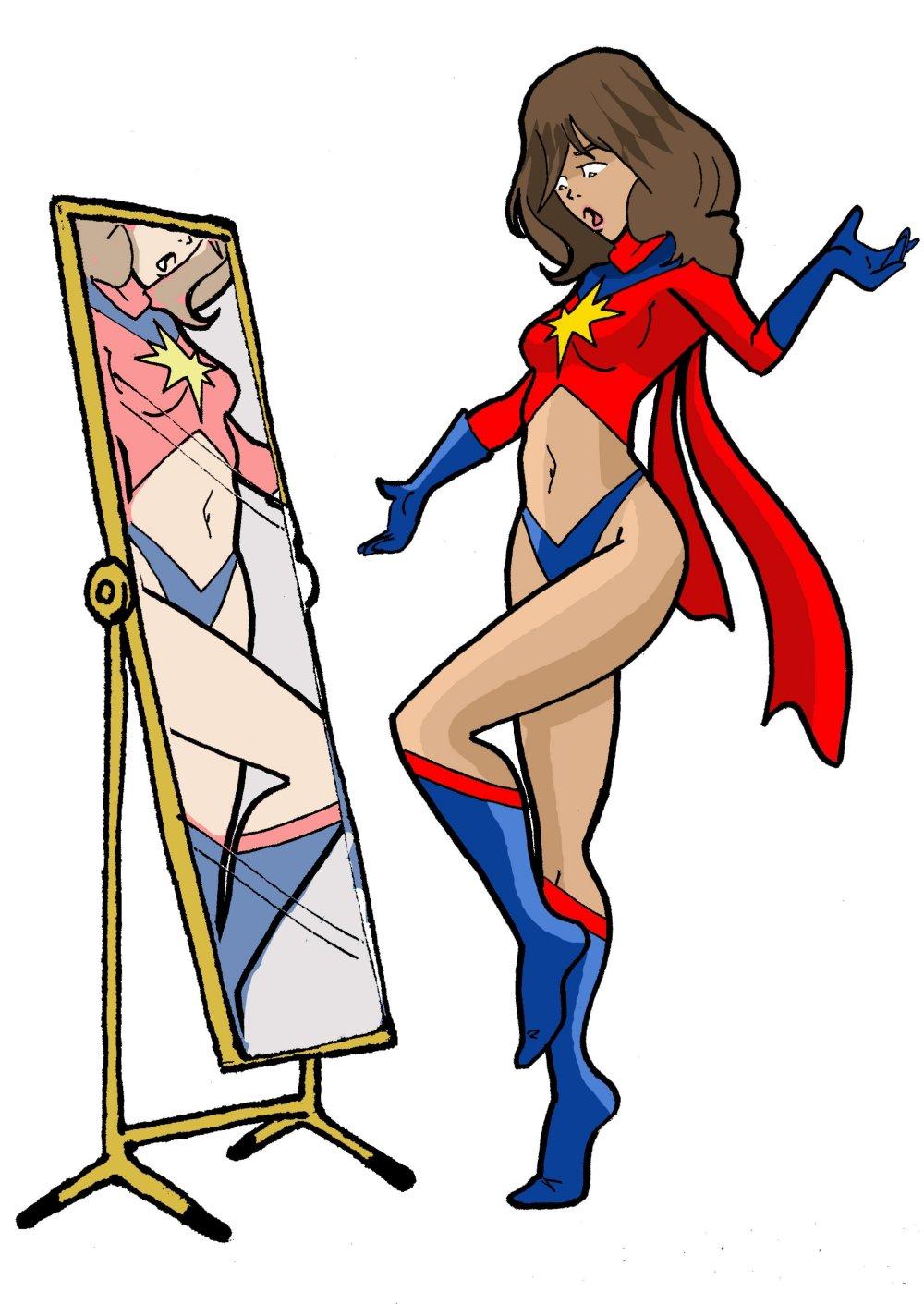 Ms. Marvel Kamala Khan's Shapeshifting Malfunction by Best-Lil-Arthouse on DeviantArt