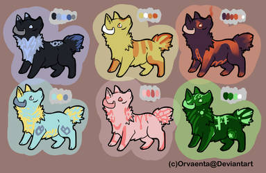 2 Point Dog Adopts (0/6)