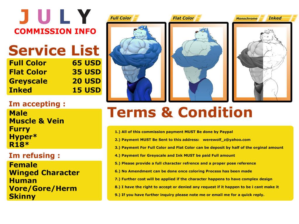 July Commission Info-01 by werewolf-z