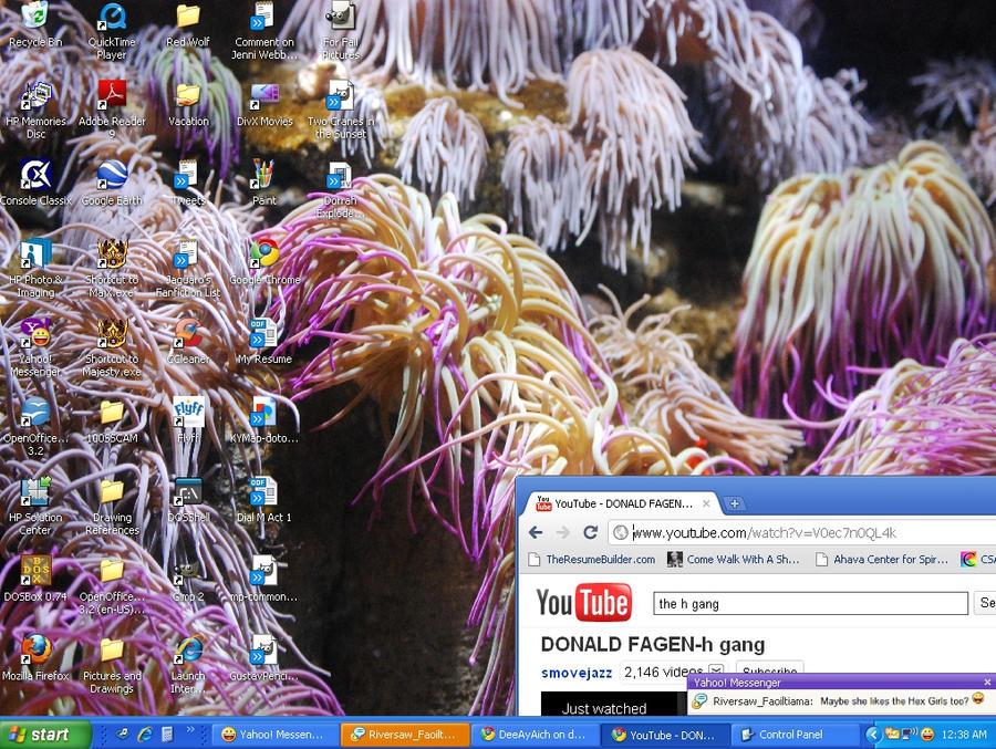 They Dance in the OceanDesktop by DeeAyAich