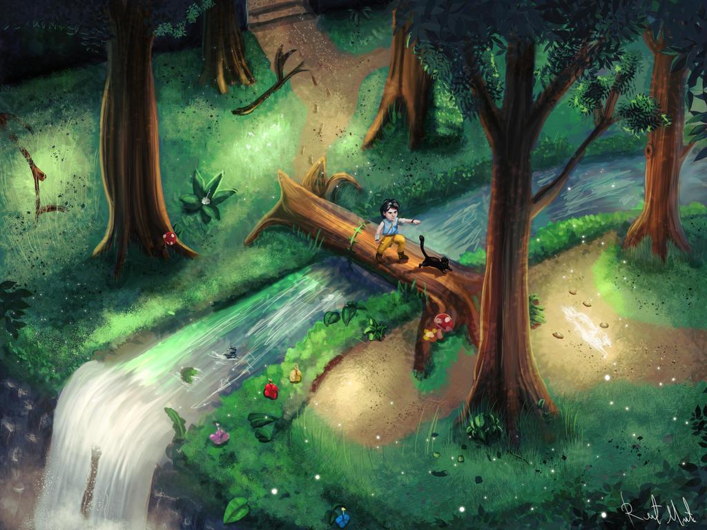 Chasing Spirits by orochi-rob