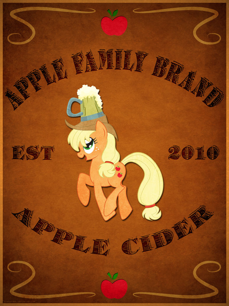 Apple Family Brand Cider by bigponymac