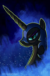 Nightmare Moon by bigponymac