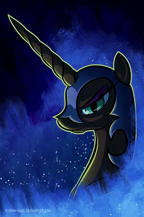 Nightmare Moon by bigponymac