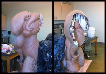 Big Luna Sculpt Mane Construction 3 by bigponymac