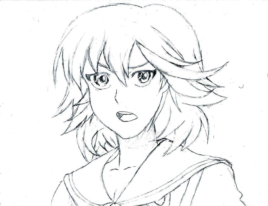 Matoi Ryuuko WIP 2 MK.I by Kisame-Thresher