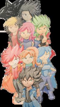 Reminiscent Zero Guild Main Members