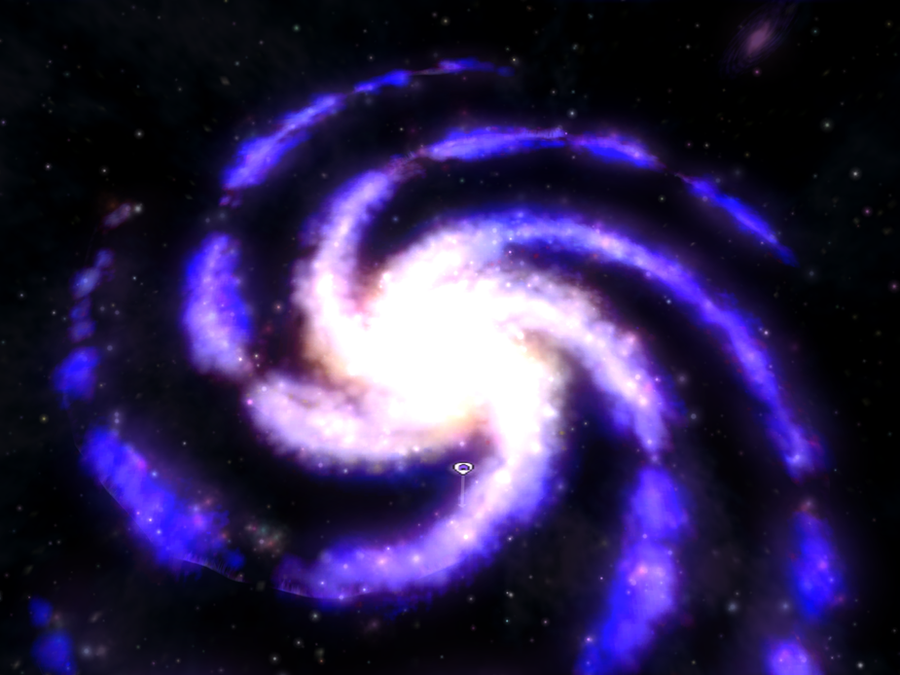 The Spore Galaxy by QueenSaphira