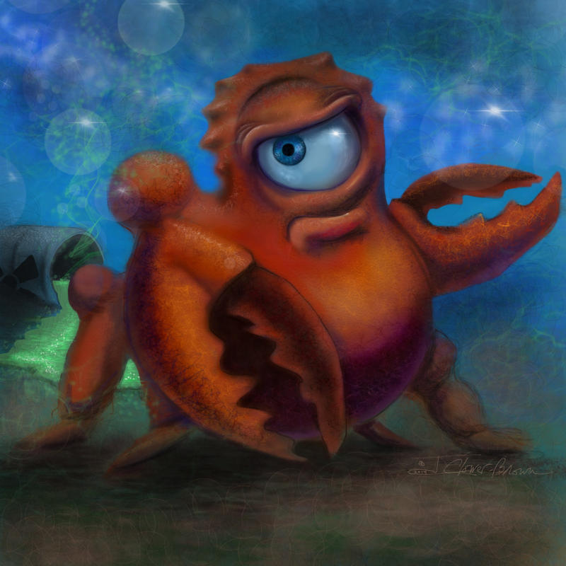 A Little Crabby by Skyejcb