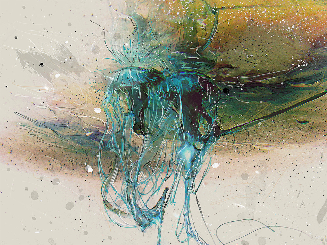 Jellyfish Abstract by stgspi on deviantART