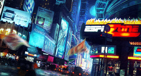 Times Square by stgspi