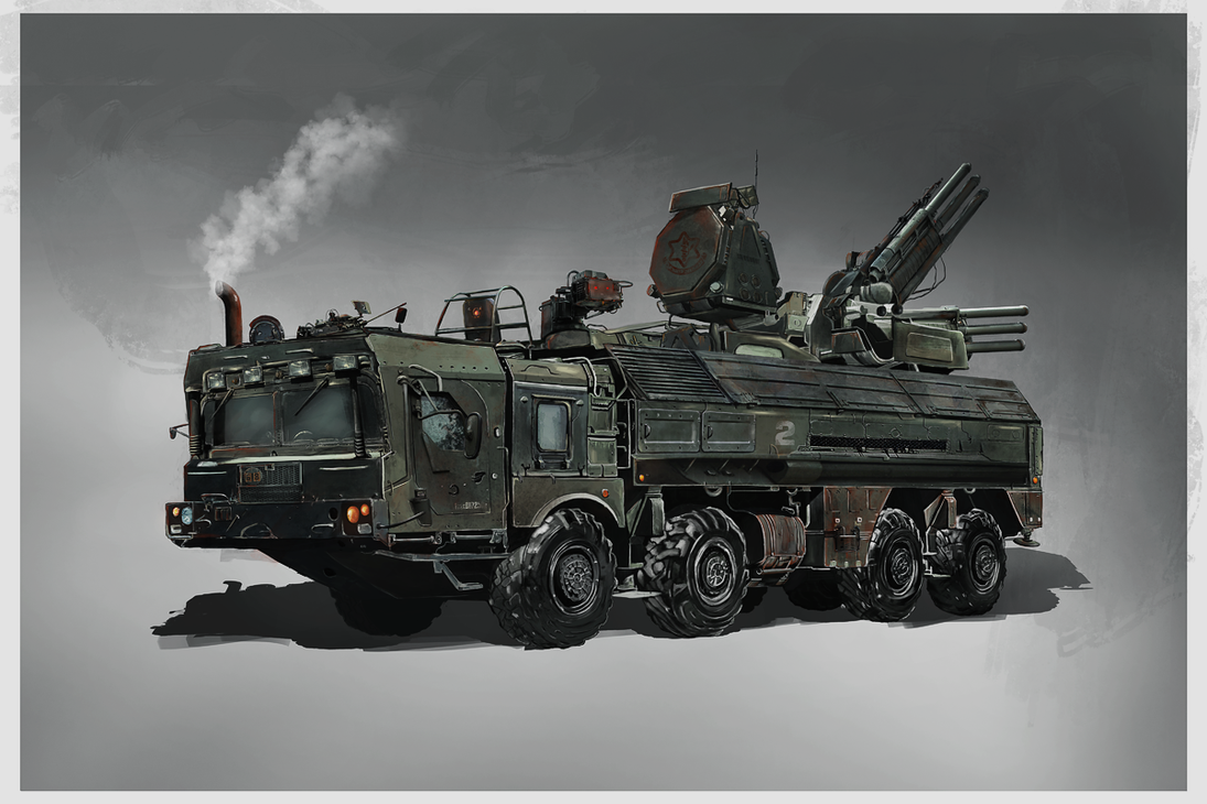 Combat Truck by stgspi