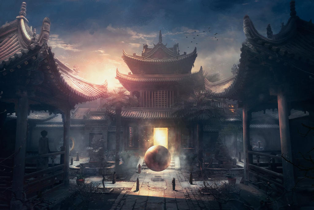Temple by stgspi