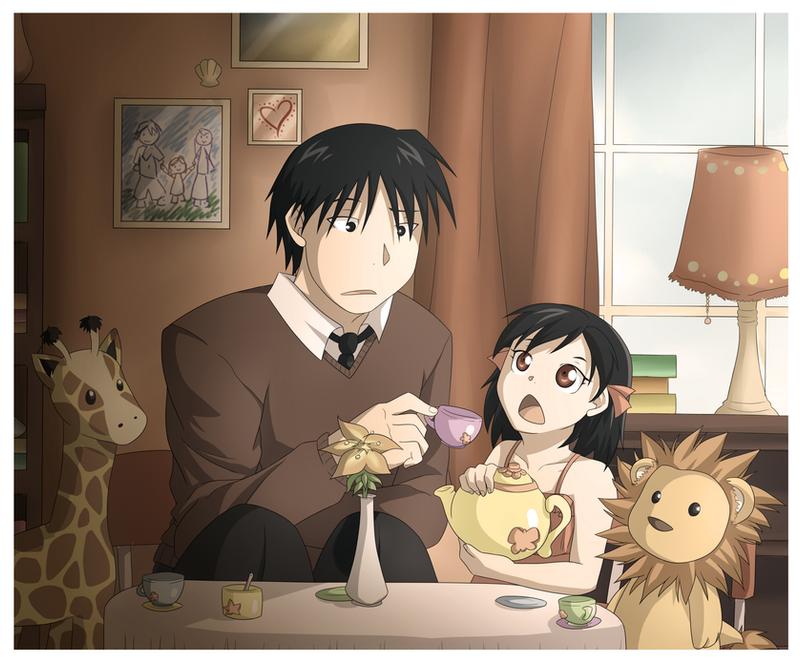 Tea Party by kasuria