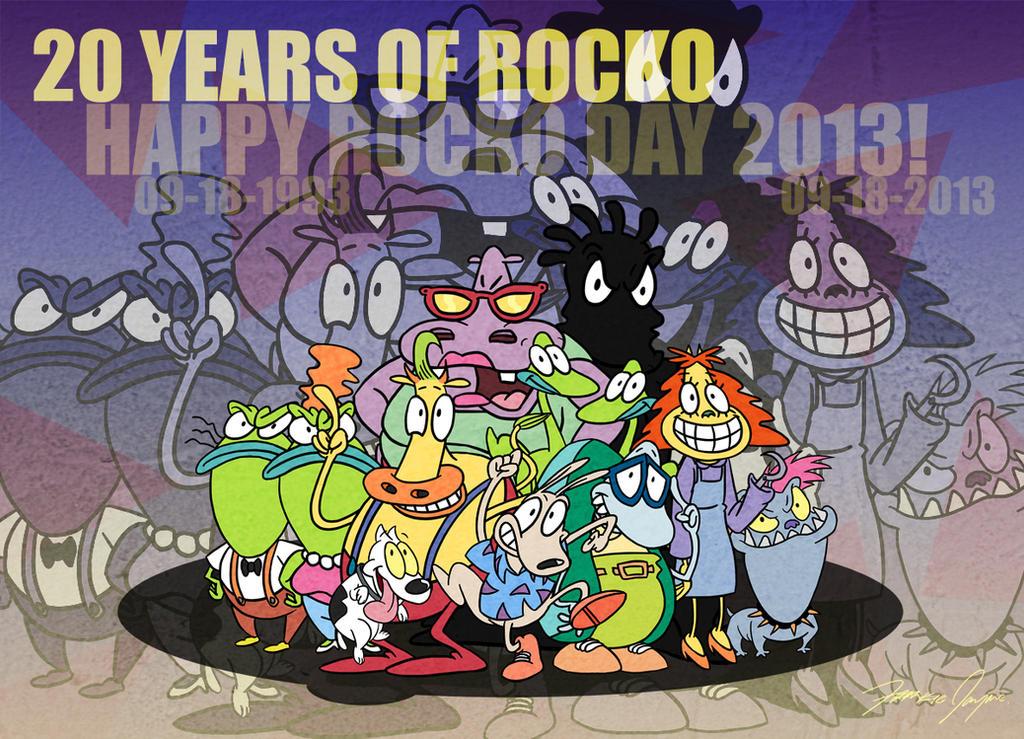 Happy Rocko Day 2013 by Netaro