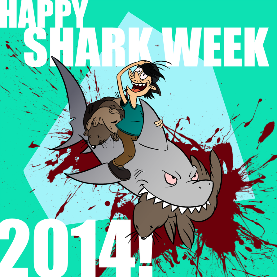 It's Shark Week 2014 by Netaro