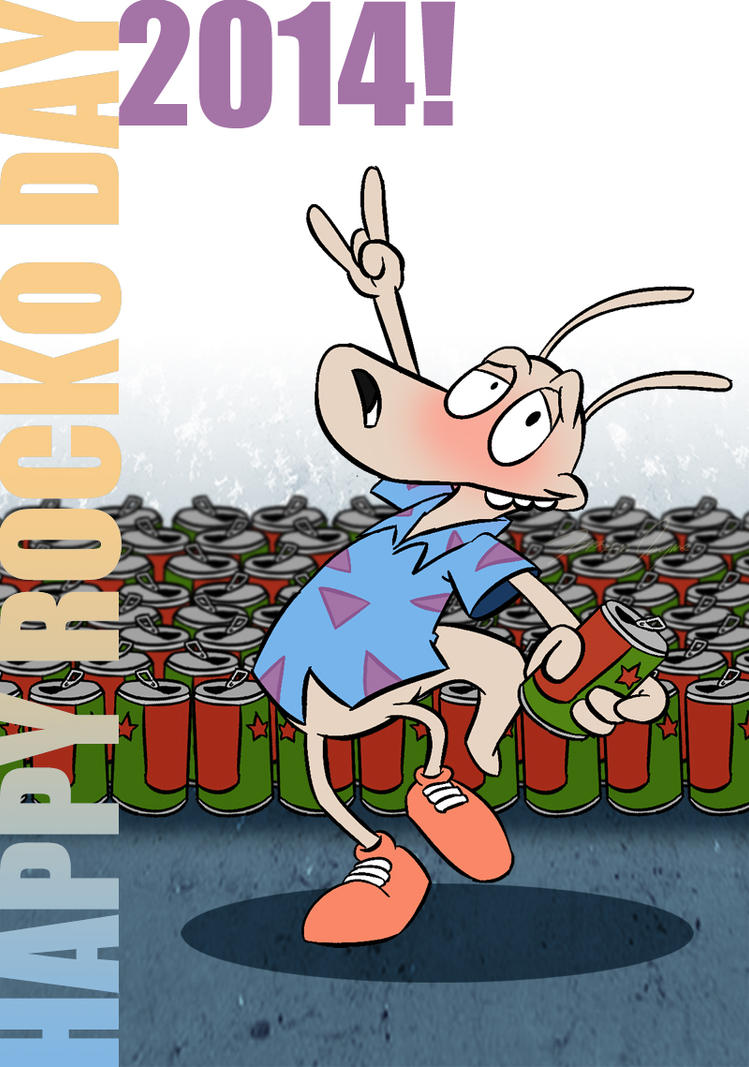 Happy Rocko Day 2014 by Netaro