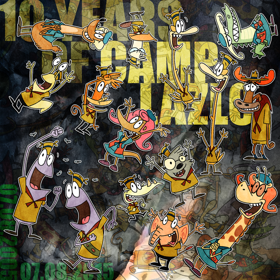 Happy camp lazlo day 2015 by netaro on deviantart