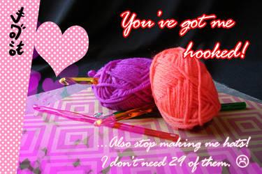 V-Day Card 2021: Crochet