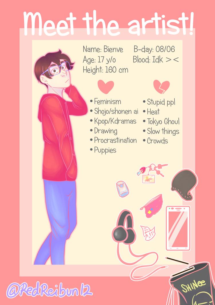Meet the artist by Reibun12