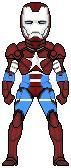 Micro Hero Iron patriot by leokearon