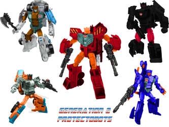 Digibash CW G2 Protectobots by leokearon