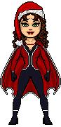Christmas Scarlet Witch by leokearon