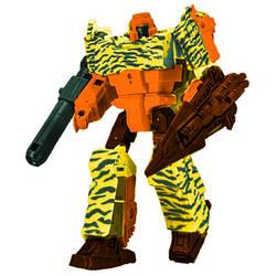 Digibash WFC Tiger Force Megatron by leokearon