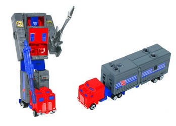 Digibash G1 Motormaster as Optimus Prime