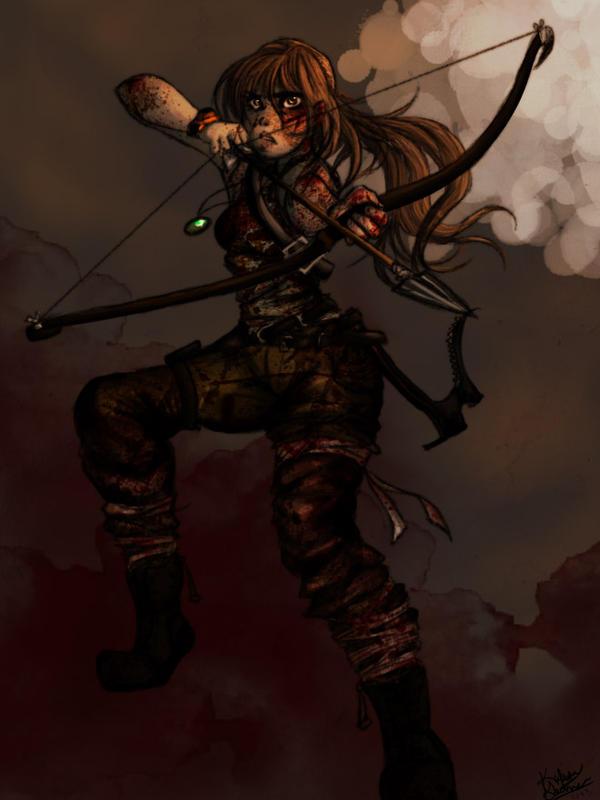 Lara Croft 2013 by TheGalacticKat