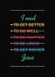 I Need You, Jesus! by Philipp-JC