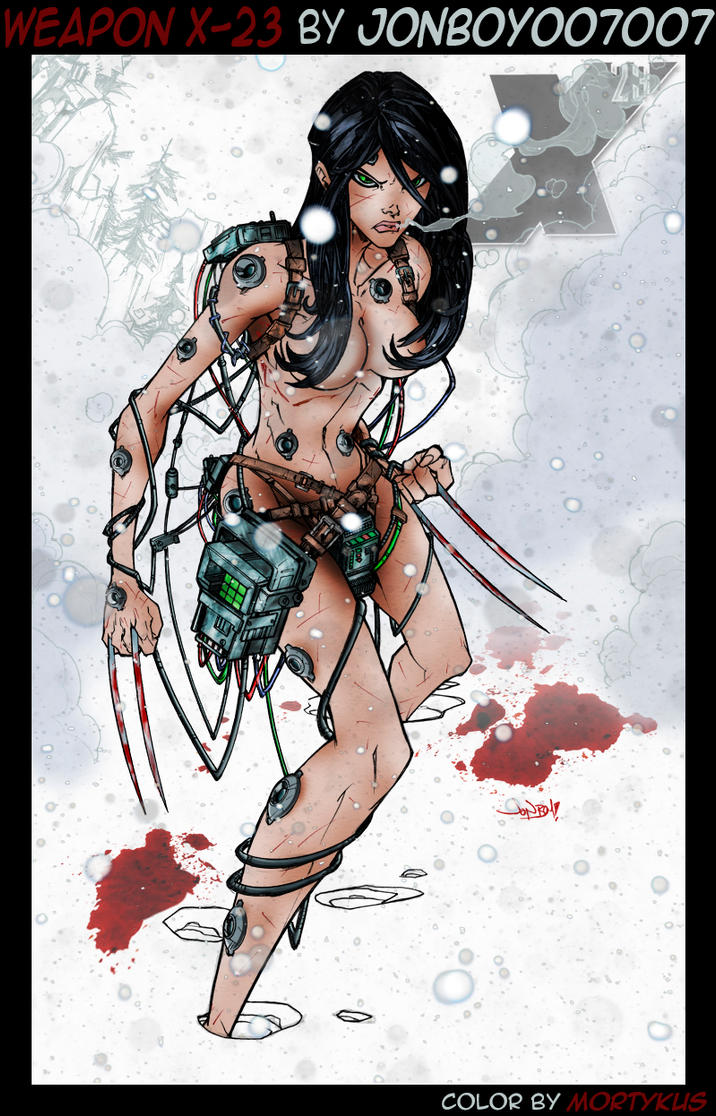 Weapon X-23 by mortykus