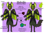 Malvolio-Reference Sheet 2019