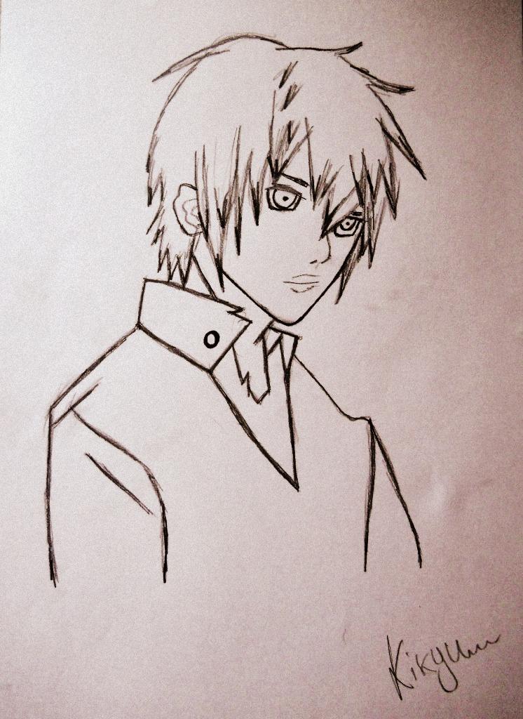 Random Guy by Kikyu12