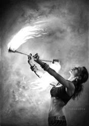 Fire dancer by Thubakabra