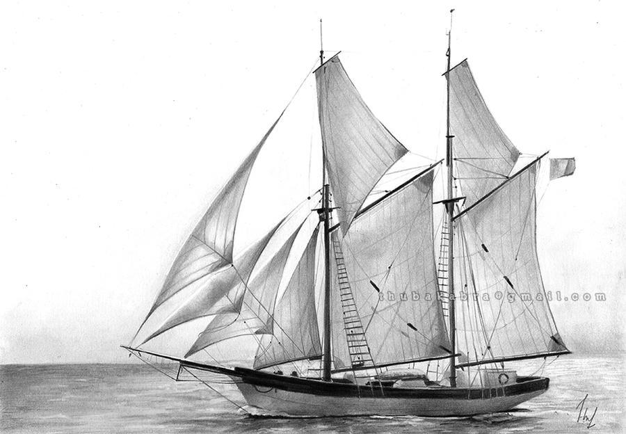 Sailboat by Thubakabra on DeviantArt