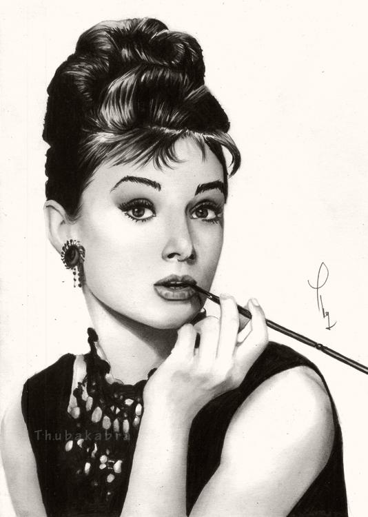 Audrey Hepburn by Thubakabra