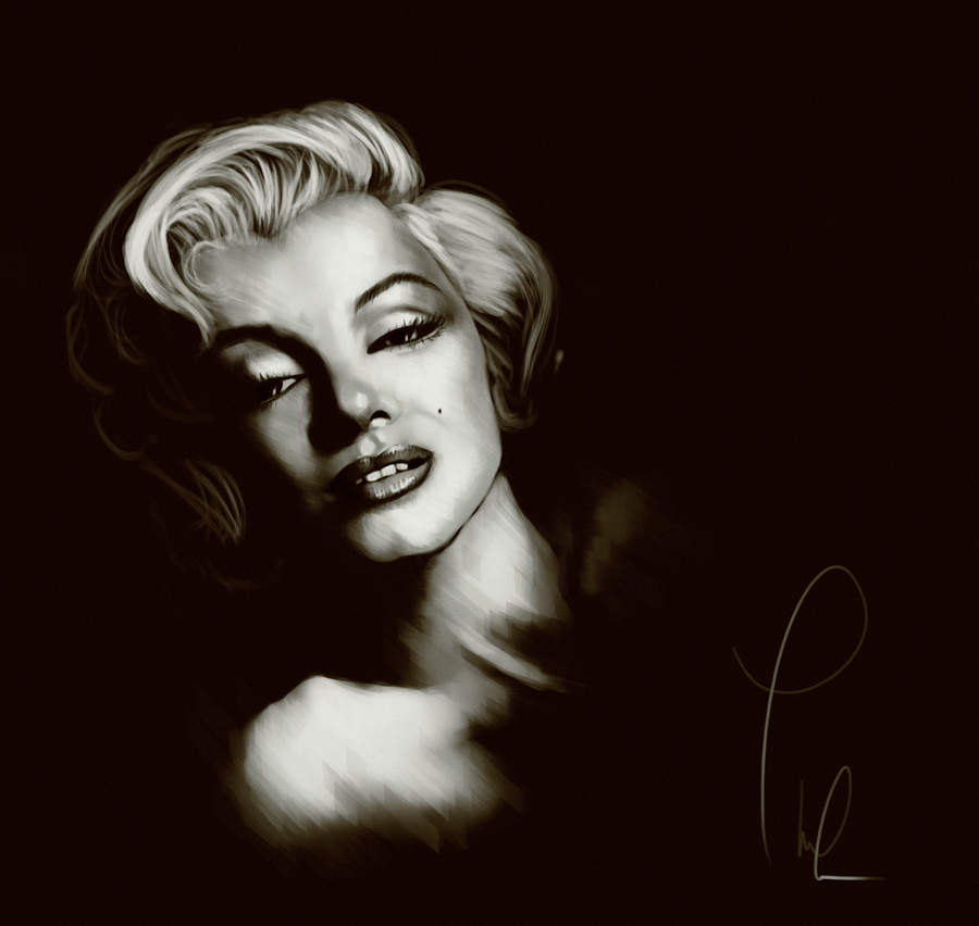 Marilyn Monroe by Thubakabra