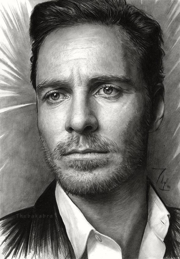 Michael Fassbender by Thubakabra