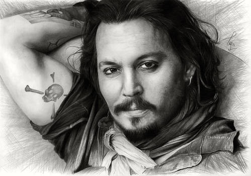 Johnny Depp III. - commission by Thubakabra