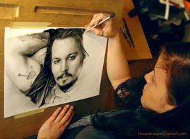 Me and Johnny Depp by Thubakabra