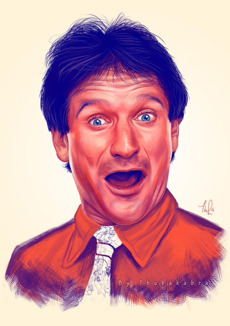 Young Robin Williams by Thubakabra