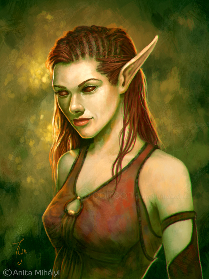 Elf Lady by Thubakabra
